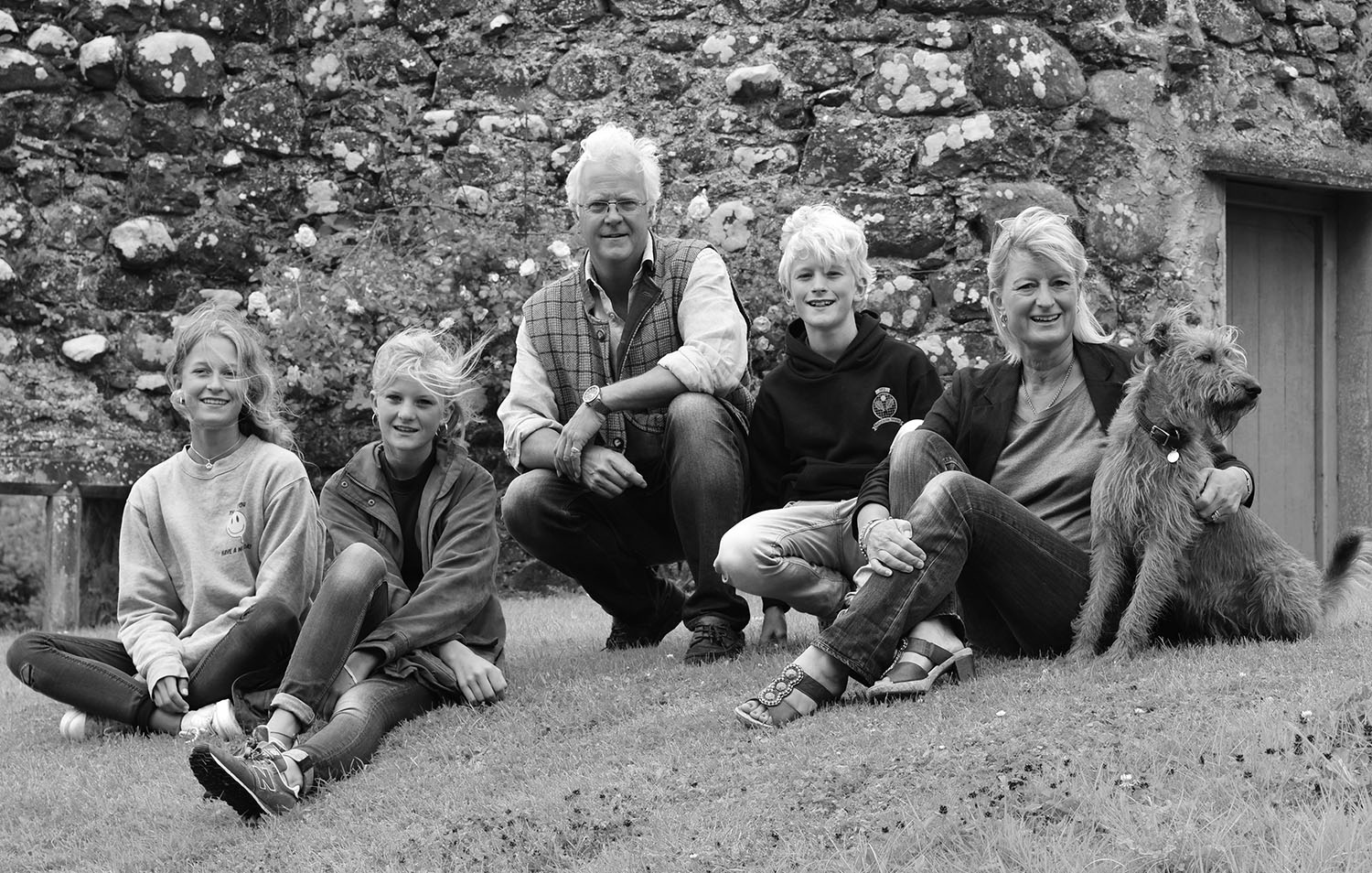 Lissanoure Castle - Our Family photograph