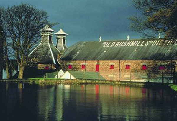 Old Bushmills Distillery near Lissanoure Castle
