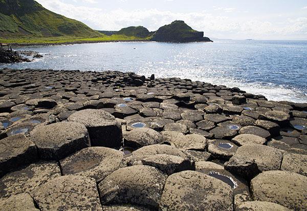Giant's Causeway near Lissanoure Castle