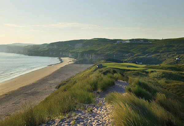 Royal Portrush Golf Club near Lissanoure Castle