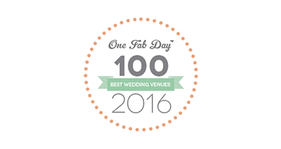 Lissanoure Castle Award - One Fat 100 Best Venues 2016