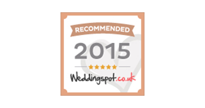 Lissanoure Castle Award - Recommended by Wedding Spot 2015