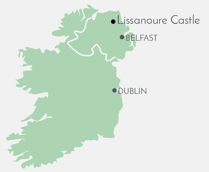 Lissanoure Castle Map