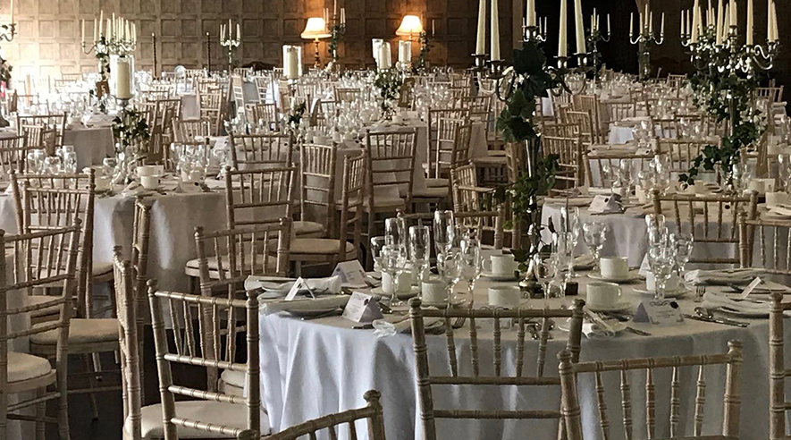 Lissanoure Castle Courtyard Dining Room for Parties & Events