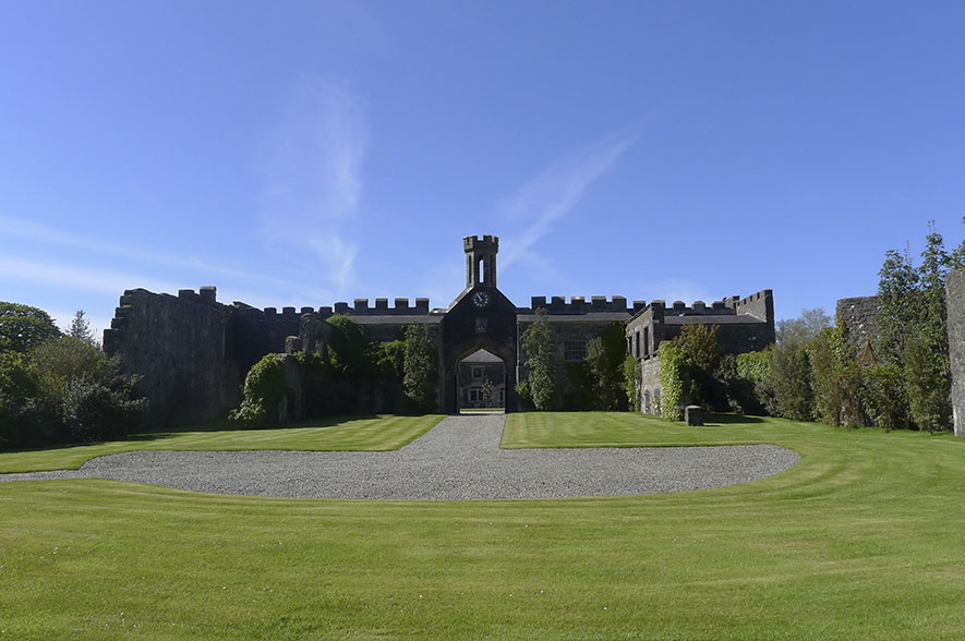 Lissanoure Castle Grounds for Parties & Events - Castle Full View