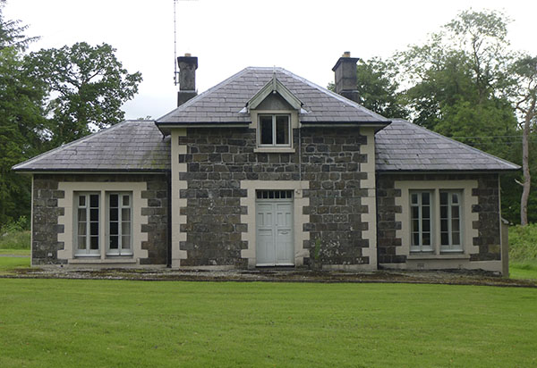 The Gamekeeper's House at Lissanoure Castle