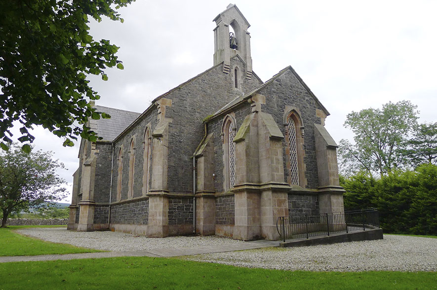 Lissanoure Castle All Saints Church, Loughile