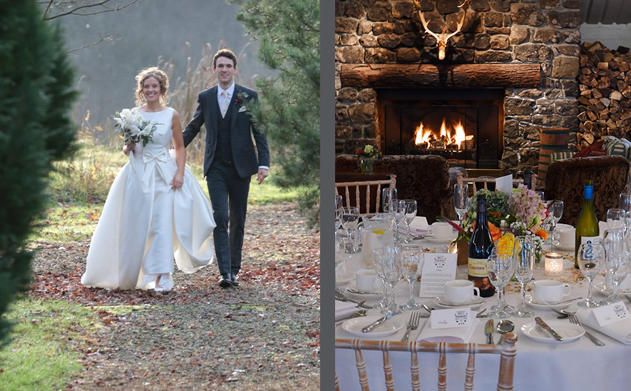 Lissanoure Castle Weddings Barn Main Room