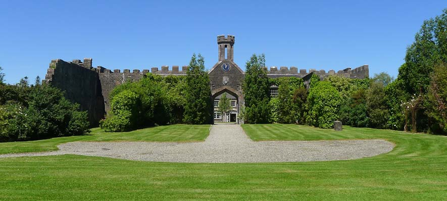 Lissanoure Castle The Grounds