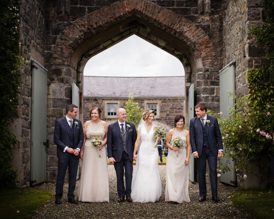 Frank and Moira's wedding at Lissanoure Castle
