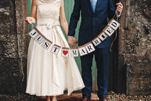 Just Married at Lissnaoure