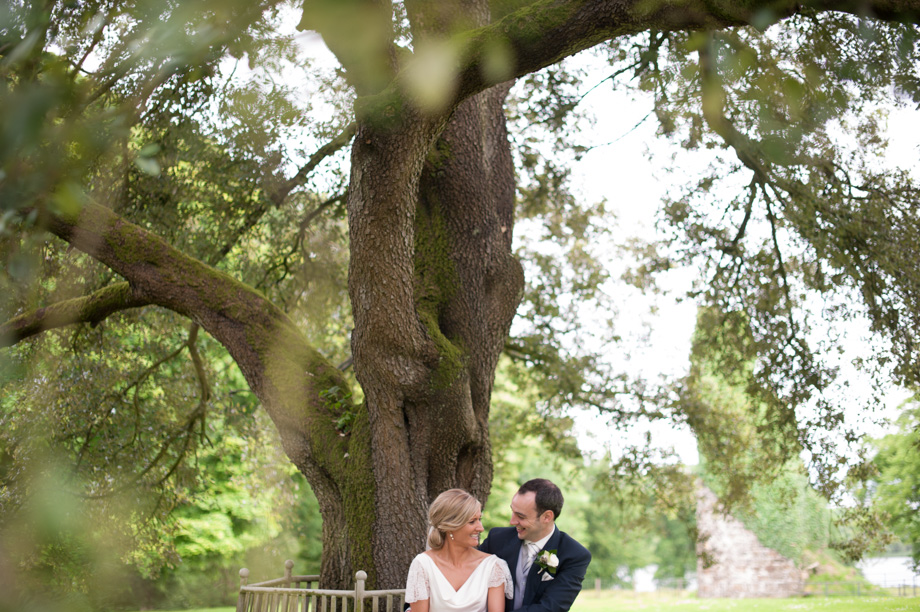 Phillip and Helen's wedding at Lissanoure Castle